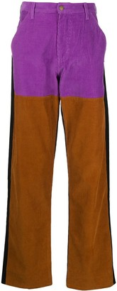 Noon Goons Colour-Block Wide Leg Trousers