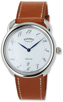 Hermes Acreau TGM Watch with Barenia Leather Strap