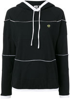 Telfar striped hoodie - women - Cotton - S
