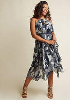 As an Aria Halter Maxi Dress in Floral Patchwork in XS - Sleeveless A-line by ModCloth