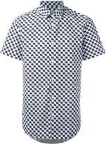 Kenzo geometric print shirt - men - Cotton - 42