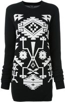 Marcelo Burlon County of Milan 'Longavi' jumper dress