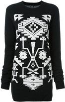 Marcelo Burlon County of Milan 'Longavi' jumper dress