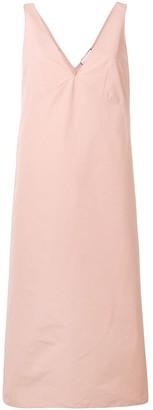 Plan C sleeveless A-line dress