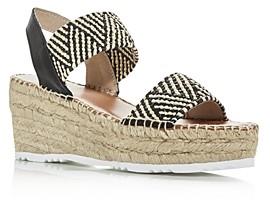 Andre Assous Women's Candy Slingback Wedge Platform Sandals