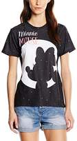 Disney Women's Minnie Mouse Moon Silhouette T-Shirt