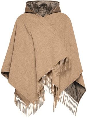 Seventy Wool Polyfill Poncho