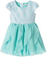 Youngland Toddler Girl Flower Ruffle Dress