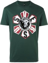 Versus lion patch T-shirt