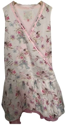 Roberto Cavalli Pink Silk Dresses