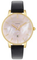 Ted Baker Women's Kate Leather Strap Watch, 40Mm