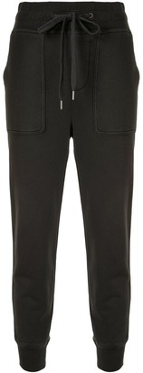 James Perse Lotus slouchy track trousers