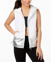 Calvin Klein Colorblocked Metallic Sleeveless Vest