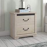 Three Posts Solihull Farmhouse 2 Drawer Nightstand Color: Antique White