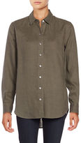 Lord & Taylor Linen Shirt
