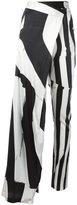 Ann Demeulemeester asymmetric printed trousers