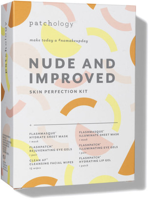 Patchology Nude and Improved Skin Perfection Kit