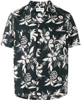 Saint Laurent Hibiscus floral printed shirt - men - Cotton/Viscose - 37