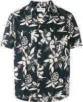 Saint Laurent Hibiscus floral printed shirt - men - Cotton/Viscose - 40