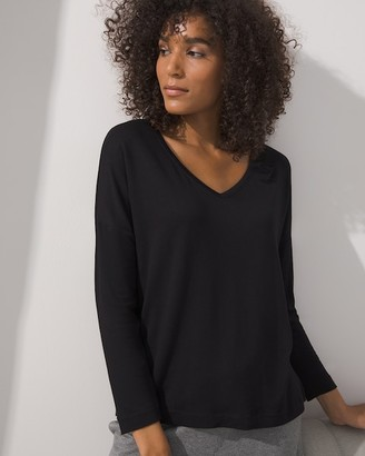 Soma Intimates Terry Long Sleeve Top