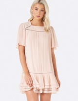 Forever New Clara Pleated Day Dress