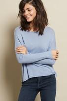 Garage V-Back Rib Sleeve Sweater