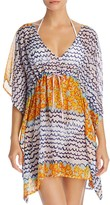 Echo Fleur De La Mer Butterfly Tunic Swim Cover-Up