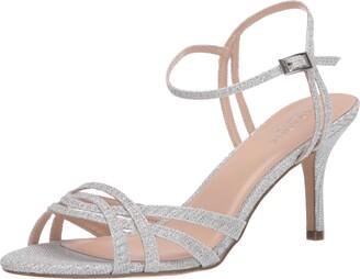 Paradox London Pink womens Hersila Heeled Sandal