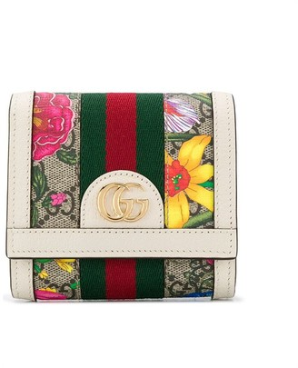 Gucci Ophidia GG Flora wallet