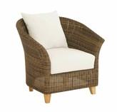 Todd Deep Seating Patio Chair Bayou Breeze Cushion Color: Natural