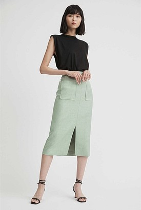 Witchery Textured Pencil Skirt