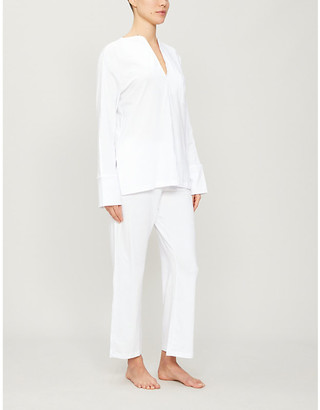 Selfridges Ondrea stretch-jersey pyjama set