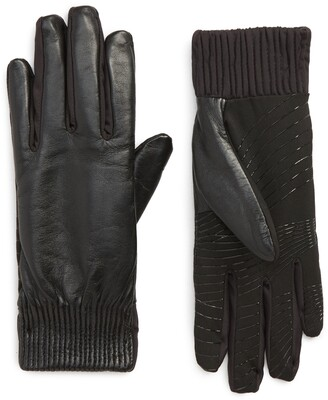 U R Leather Touchscreen Compatible Gloves