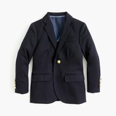 J.Crew Boys' Ludlow two-button blazer in navy wool