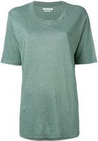 Etoile Isabel Marant boyfriend T-shirt - women - Linen/Flax - S