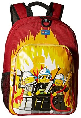 Lego City Fire Heritage Classic Backpack (Red) Backpack Bags