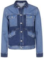 PS by Paul Smith PS By Paul Smith Tonal Blue Oversized Denim Jacket
