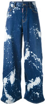 DSQUARED2 Jazz bleached effect jeans - women - Cotton/Spandex/Elastane - 40