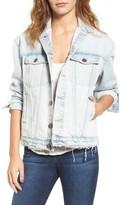 Current/Elliott Women's The Boyfriend Denim Trucker Jacket
