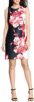 Lauren Ralph Lauren Floral Ponte Dress
