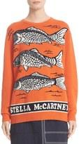 Stella McCartney Women's Poisson Intarsia Knit Wool Sweater