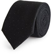 Reiss Stern - Wool And Silk Tie in Blue, Mens
