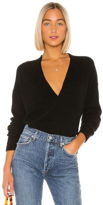 360 Cashmere 360CASHMERE X Rocky Barnes Karlie Wrap Sweater