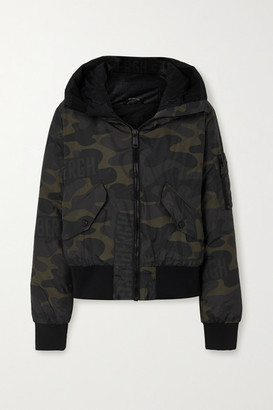 Goldbergh Forest Hooded Camouflage-print Down Ski Jacket - Army green
