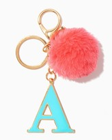 Charming charlie Furry Initial A Keychain