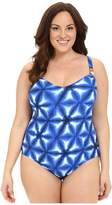 MICHAEL Michael Kors Luna Adjustable Maillot One-Piece Plus