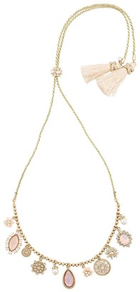 Marchesa Moment in the Sun charm necklace