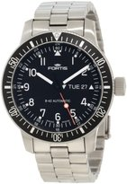 Fortis Men's 647.10.11M B-42 Official Cosmonauts Automatic Black Dial Watch