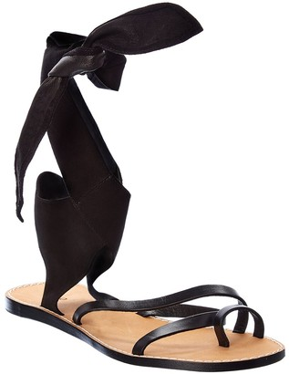 IRO Taina Leather & Suede Sandal