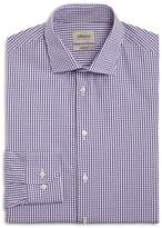 Armani Collezioni Multi Check Classic Fit Dress Shirt